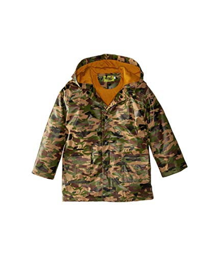 Western Chief Kids Boy's Camo Rain Coat (Toddler/Little Kids) Camo 4T Toddler