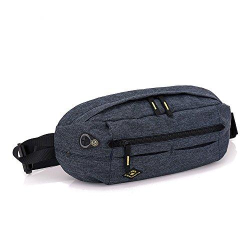 Preisvergleich Produktbild Bauchtasche Sporttasche Crossbody Tasche Sling-Rucksack Schultertasche Damen Herren Handtasche Brusttaschen für Outdoorsport Laufen,  Ballspiele,  Wandern,  Camping,  15,75 x 7,09 x 3