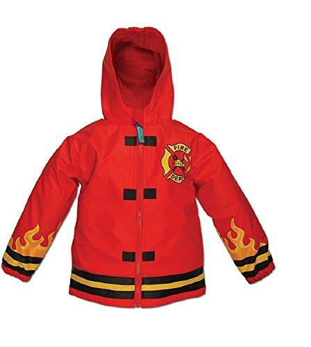 Stephen Joseph Feuerwehr - Firetruck Kinder Regenjacke Regenmantel (80/86)