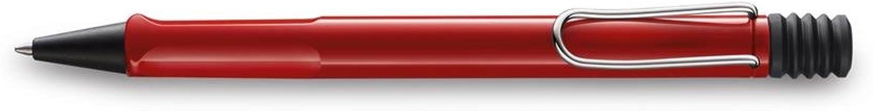 Lamy FH05270 Safari 216 - Pluma estilogrfica (punta media), color rojo