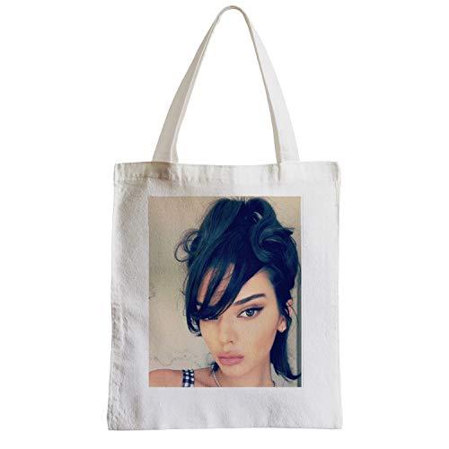 Große Tasche Sack Strand Schüler Foto von Star Berühmten Modetrend Modell Kendall Jenner TV
