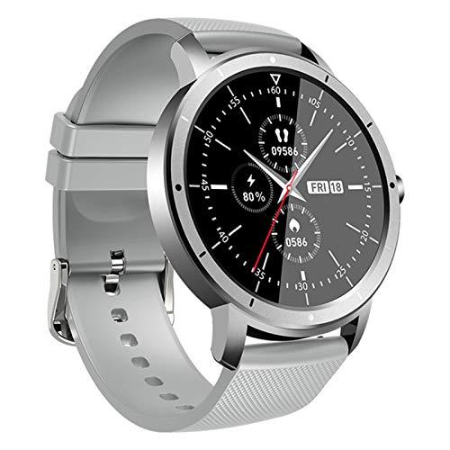 LJMG Wearpai HW21 reloj inteligente para hombre y mujer, IP68, impermeable, banda de fitness, monitor de sueño de ritmo cardíaco, reloj inteligente para iOS Android, B