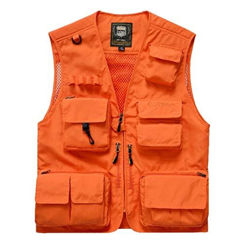 Pocket vest van polyamide Primavera en herfst voor sport en vrije tijd Gilet Multi-Taino voor wandelen in de open lucht Gilet Sciolto