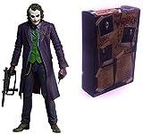 Tagke Dark Knight Joker Heath Ledger, la Figura de acción de 7 Pulgadas, Joker Figura, DC Comics Bat...
