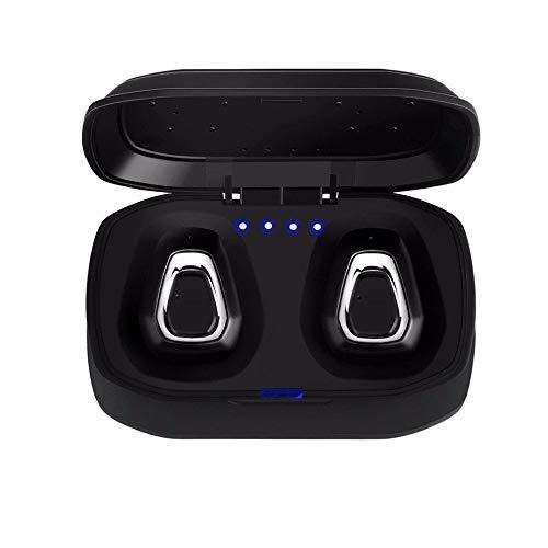 ZIHENGUO TWS Auriculares inalámbricos Bluetooth Estéreo Manos Libres Auricular Bluetooth para Auriculares con Caja de Carga para teléfono Android I7 / I7s