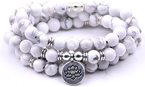 Kejing 108 Pearl Lotus San Antonio Max 61% OFF Mall Pendant Bracelet Stone S Mountain Natural