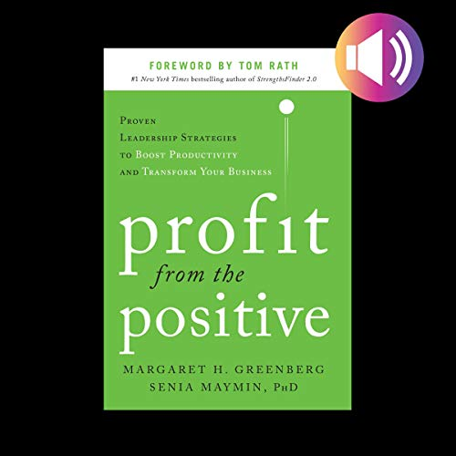 Profit from the Positive audiobook cover art