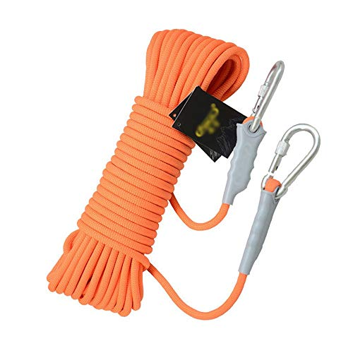 RKY Corde d'escalade extérieure Corde d'escalade Lifeline Ligne de sauvetage Matériel de survie Fourniture Usure de corde de sauvetage Corde d'escalade, 4 styles, 5 tailles Corde de sécurité