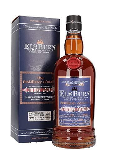 Elsburn Distillery Edition 2020, Single Malt Whisky, Batch 1 limitiert auf 2712 Flasche, 0,7L