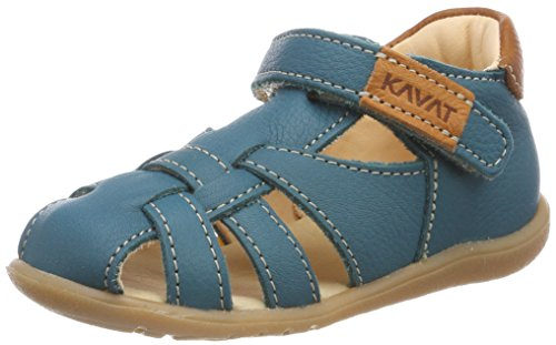 Kavat Baby Mädchen Rullsand Sandalen, Blau (Ocean Blue/905), 22 EU