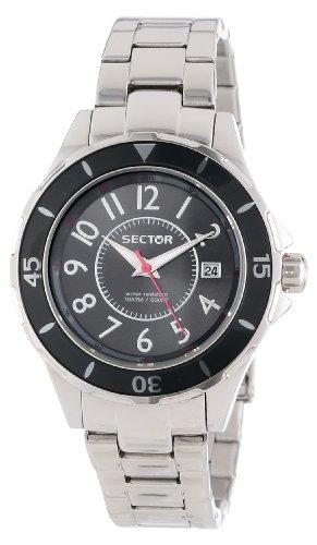 Sector R3253161503 - Reloj analógico de Cuarzo para Mujer con Correa de Acero Inoxidable, Color Plateado