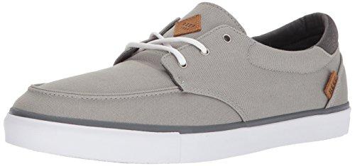 Reef Men's Deckhand 3 Sneaker, Grey/White, 10