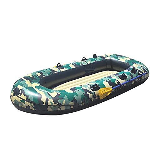 Lwieui Kayaks Pesca de Cuatro Personas Kayak de Fondo rígido Inflable a...