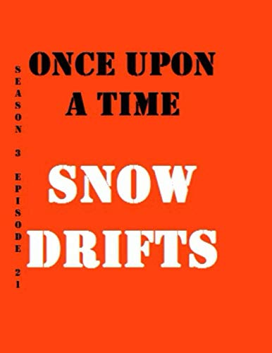 Once Upon a Time Snow Drifts Quotes Library Decorative Birthday Gift ( 110 Page Big Size ) Notebook Collection A decorative book for coffee tables, ... design styling: Tv Show Diary Notebook
