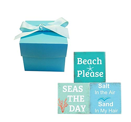 Beach Quote Soap Bar Cheap Limited time cheap sale Gift Set Natu Set-Vegan 3-Beach OF Chic All