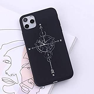WAAH Flight Map Mobile Soft Shell for iPhone 11pro Max Case Soft TPU Shockproof Mobile Phone case for iPhone 7 8 Plus XR X...