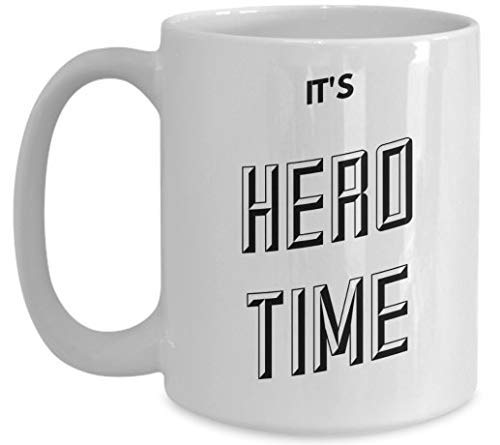 N\A t 'S Hero Time Coffee Mug Hero Gift Dad Coffee Mug Dad Gift Father' S Day Gift Padre