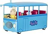 Peppa Pig Autobús del Cole, Color Azul, (Bandai...