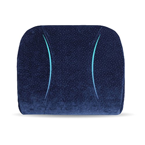 uus Coussin de latex naturel Coussin de coussin de voiture / chaise lente Rembourrage et housse amovible avec coussin de mémoire 40 * 35 * 10 cm ajusté