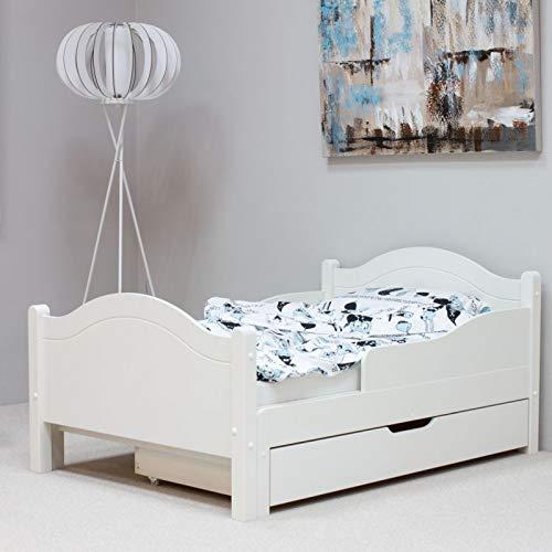 Alfred & Compagnie - Cama evolutiva (90 x 140 x 200 cm), color blanco