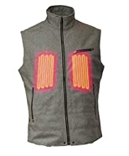 """Empire 5V Wool Heated Vest by Volt (X-Large (Chest 44""""-47"""