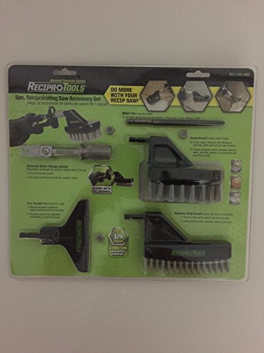 5 pc. Reciprocating Saw Accessory Set