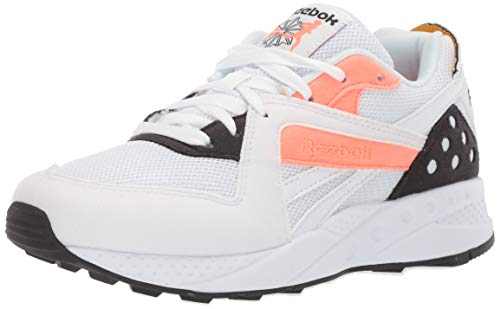 Reebok PYRO, White/Stellar Pink/Trek Gold/Black, 3.5 M US