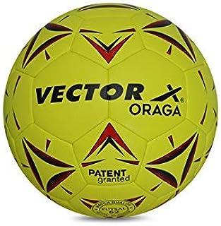 Vector X ORAGA Thermofused Futsal Ball (32panels) (Yellow-Red), 4