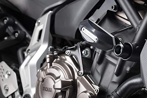 Sturzpad-Kit, schwarz, Yamaha MT-07 (2014-) / MT-07 Tracer (2016-)