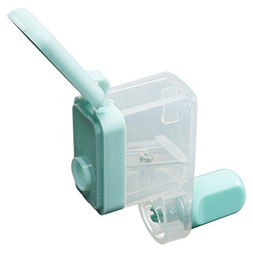 カール事務器 鉛筆削り くるくる カールくん 日本製 ブルー CPS-80-T
