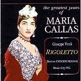 VERDI: Rigoletto / Mexico City Palacio de Bellas Artes Orchestra & Chorus, Mugnai, Di Steffano, Callas