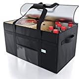 KIBAGA Premium Insulated Food Delivery Bag XXL - 23x14x15 inches Waterproof Catering Supply Bag for Hot Food Delivery - Premium Food Warmer Bag for Uber Eats and Doordash Food Delivery