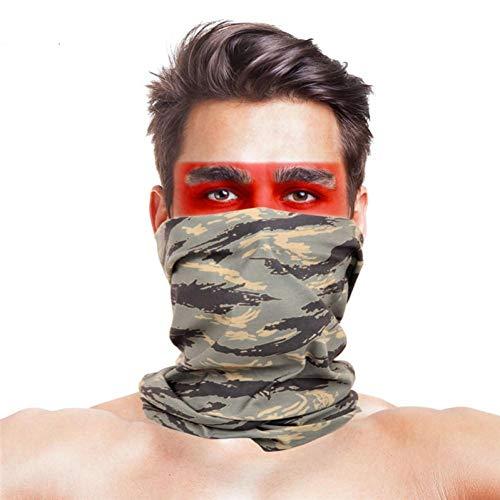 Fiets hoofddeksels Multi gebruikt Magic hoofddeksels Face Shield Fiets fietsen Bandana gezichtsmasker sjaal
