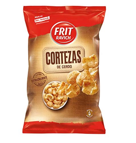 SNACKS FRIT RAVICH CORTEZAS CERDO 65 GR (PAQUETE DE 14