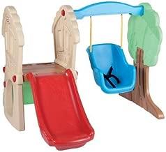 Toddler Swing Set Swing N Slide Tots Indoor Outdoor Swings Seat Infant Playground Baby Play Swingset for Kids Slide Bucket Child Backyard Safe Kid Slides New