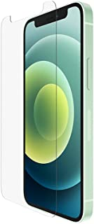 Belkin ScreenForce UltraGlass Anti-Microbial Screen Protector for iPhone 12 mini (Ultimate Protection + Reduces Bacteria o...