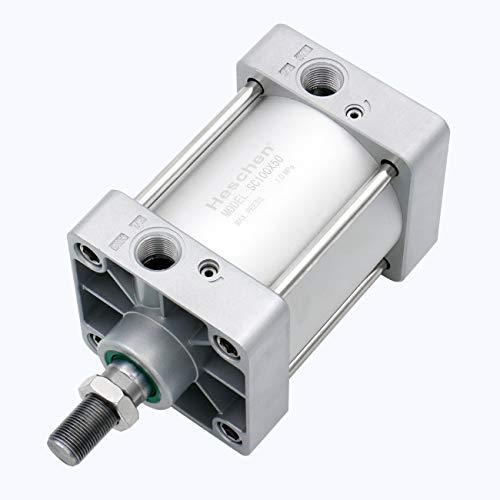 Heschen Cilindro neumático estándar SC 63-50 PT3/8 puerto 63 mm diámetro 50 mm carrera doble acción