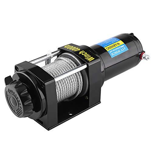 Cabrestante eléctrico de 12 V, con mando a distancia, ideal para ATV, Buggys, remolques, quads y barcos