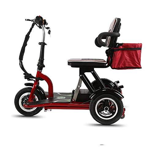 LLPDD elektrische mobiliteit scooter 3-wiel volwassenen scooter opvouwbaar