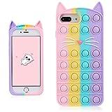 Coralogo Color Cat Case for iPhone 6 Plus/6S Plus/7...