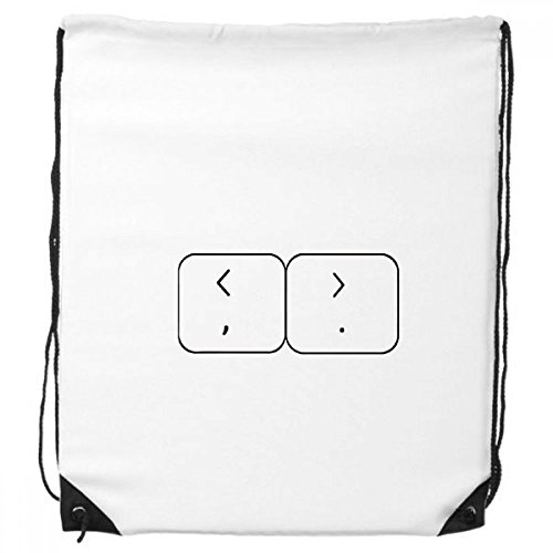 DIYthinker Tastatur Symbol Brackets Rucksack Einkaufen Geschenk Sporttaschen