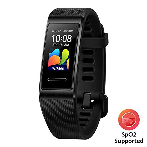 "HUAWEI Band 4 Pro Smart Band Fitness Tracker, Touchscreen AMOLED 0.95"", Monitoraggio Battito Cardiaco, Monitoraggio Scientifico del Sonno, GPS Integrato, Resistente all'Acqua, Graphite Black"