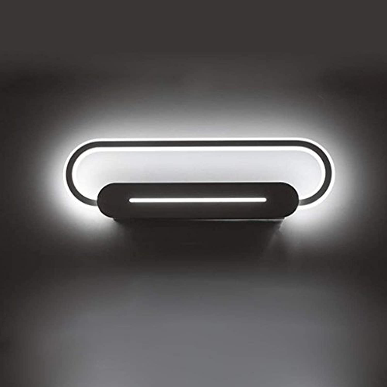 QAZ Badezimmerspiegel Beleuchtung LED-Spiegel Scheinwerfer, Neigungswinkel verstellbar Badezimmer Badezimmer Anti-Beschlag Spiegel Schaltschrankleuchten Toiletten Moderne setzte die Scheinwerfer (Farbe  Weies Licht-17 W 46 cm)