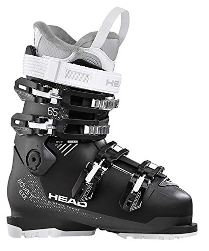 HEAD Damen Advant Edge 65 Skischuhe, Anthracite/Black, 255