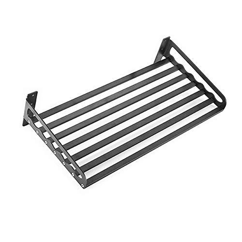 Wandplank, Magnetron Keuken Badkamer plank, Geschikt voor Roestbestendig Laadlager Sterke Oven Rack Opslag Pot Houder
