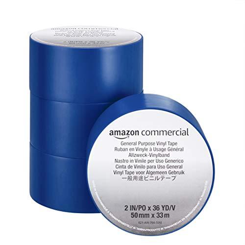 Cinta Americana Azul Impermeable Marca AmazonCommercial