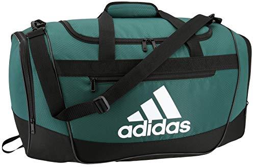 adidas Defender III medium duffel Bag, Green/Black/White, One Size