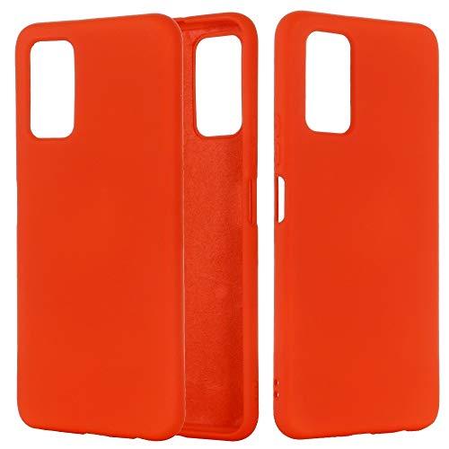 PHONETABLETCASE+ / for Compatible with Huawei Honor X10 5G Color de Silicona líquido de Color Puro Funda de Cobertura Completa a Prueba de Golpes,Protección de la Cubierta de la Cubierta a Prueba