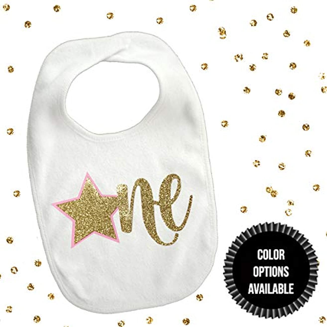 1 piece one star bib toddler boy girl for first birthday gift cake smash photo prop twinkle twinkle little star
