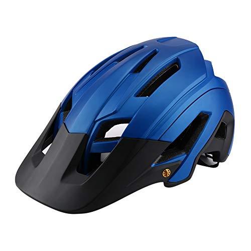 QYLJX Casco da Bicicletta, Casco Regolabile per Adulti Certificato CE, Unisex, 14 Prese d'Aria, per Bici da Strada Ciclo BMX A Cavallo